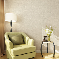 Modern Minimalist Style Wall Paper Solid Color Non Woven Wallpaper Living Room Tv Sofa Background Wallcovering