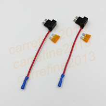 1000pcs Car Blade Fuse Boxes Holder Piggy Back Adapter Cable Add-A-Circuit Fuse Holder Standard Blade Fuse ATO ATC 12v 24v 20A