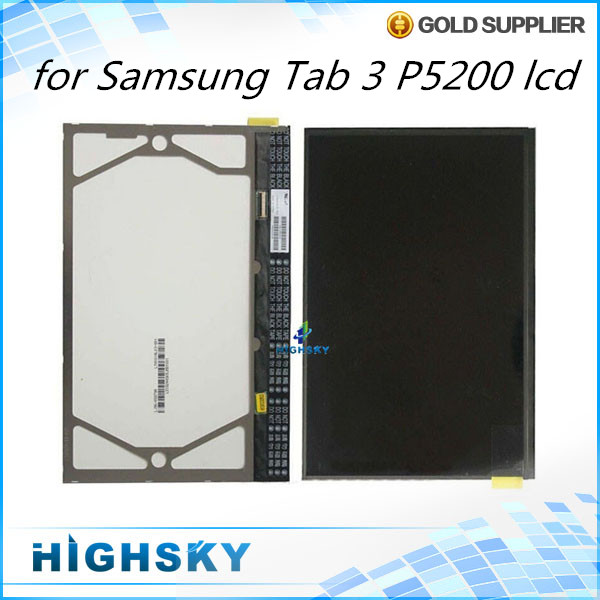 ФОТО For Samsung galaxy tab 3 10.1 P5200 P5210 lcd display replacement parts 10 pcs/lot free shipping