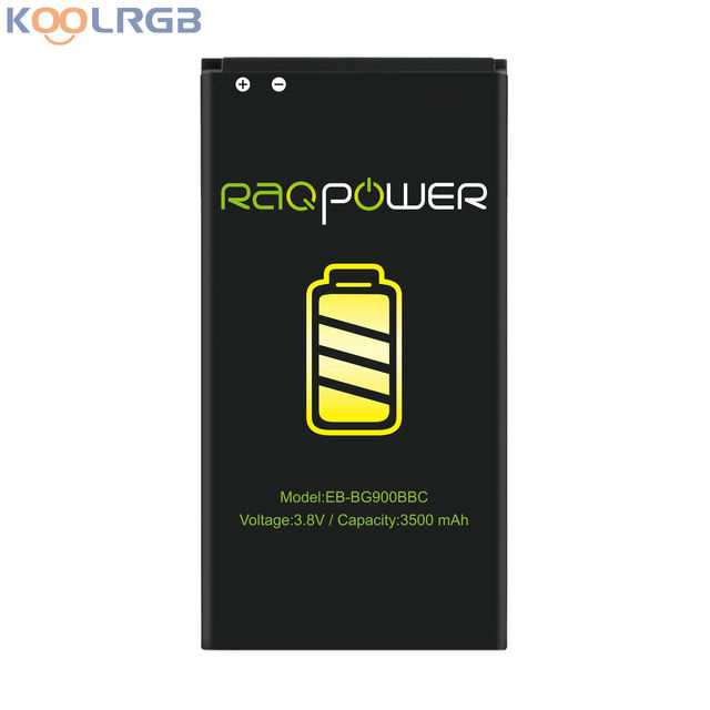 RAQPower Li-ion Battery EB-BG900BBE High Capacity 3500 mAh EB-BG900BBU For Samsung Galaxy S5 SM-G900V