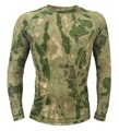 Atacs FG Army T-shirt  Camo Long sleeve Tactical shirt Breathable Lightweight summer shirt