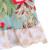 Nuevo Diseño de Los Niños Trajes de Verano Floral Swing Top Ruffles Shorts Boutique de Juego 2 Unids Kintted Algodón Establece S085