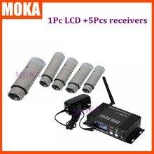6 шт./лот приемник для зарядки/Отправитель DMX 512 беспроводной консольный приемник sinal с XLR и печатной платой
