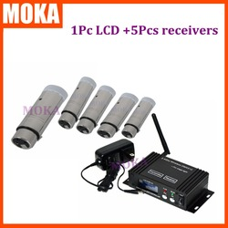 6pcs/lot charging receiver/sender DMX 512 Wireless Console Receiver sinal with XLR and PCB board   newly developed