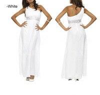 одна долгая плеча бисером невесты пром платье горячая платье женщины ну вечеринку платье