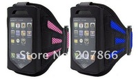 бесплатная доставка спорт рука мешок повязку чехол футляр для ношения на руке для айфона 4S / 4 случаях защитная крышка для мобильного телефона