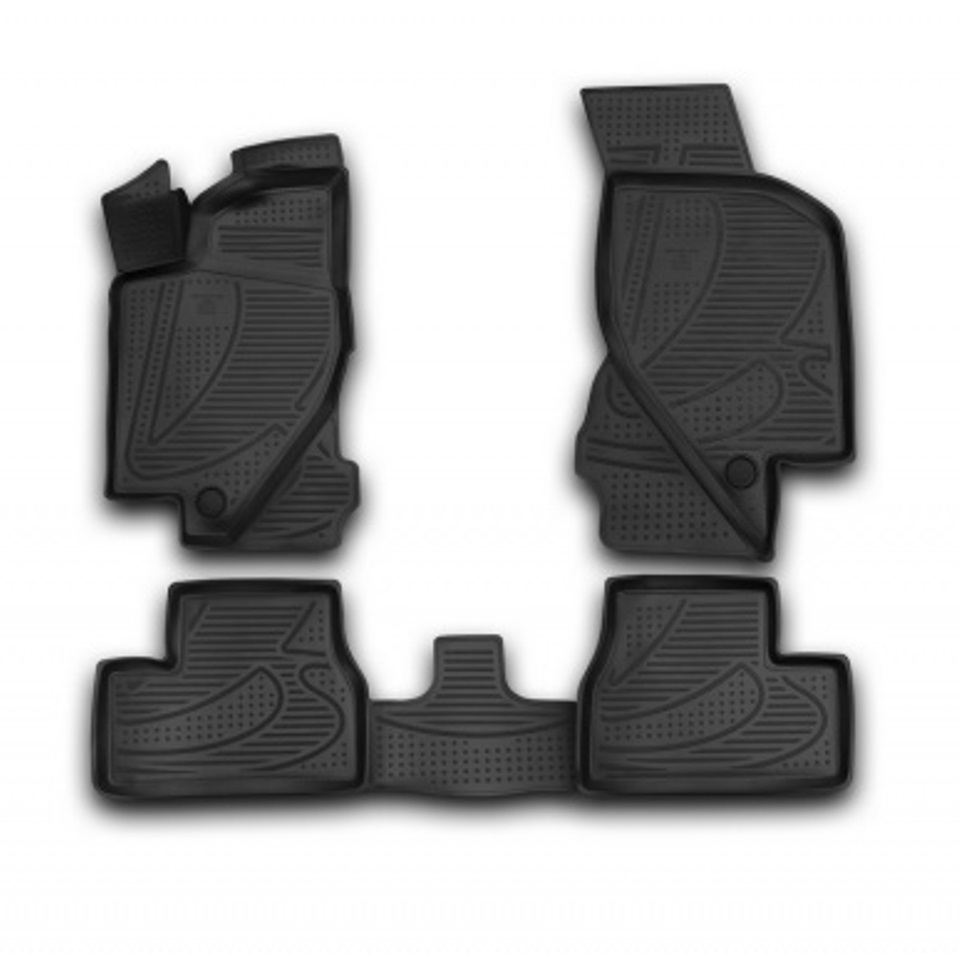 3D Floor mats for Lada Granta 2011 2013 2014 2015 2016 2017 Element F520250E1 Russia 3d floor mats for lada largus element f620250e1