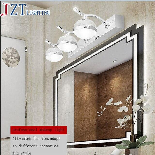Us 13506 15 Offm Nowoczesne Oświetlenie Led Lustro światła Profesjonalny Makijaż światło W łazience Toaleta Wc Magiczna Kula Lampa Lustrzana