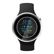 Reloj redondo de deporte, el bluetooth reloj inteligente a prueba de agua, 1.22'HD reloj inteligente para Apple y Android celular con el UV monitor de ritmo cardíaco