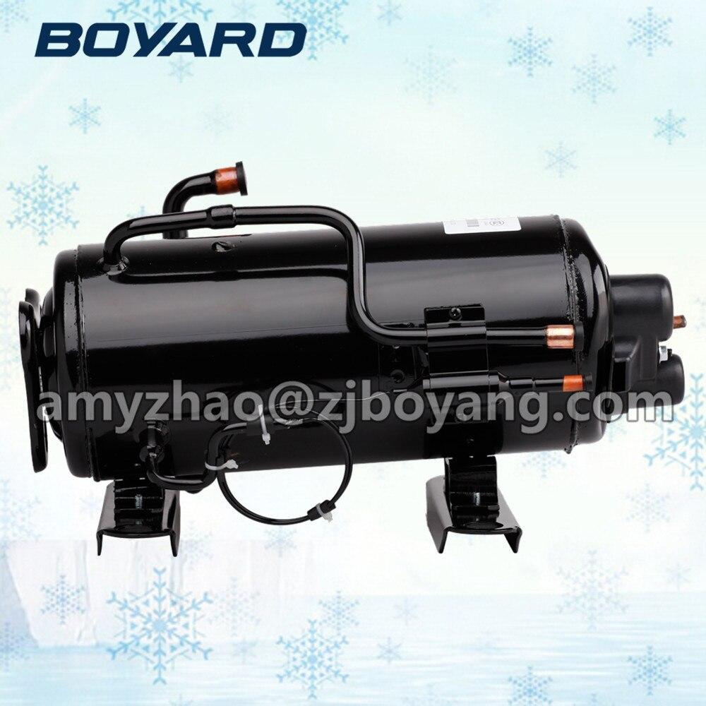 1HP 60Hz commercial refrigeration compressor 1hp 60hz horizontal refrigeration compressors for upright beverage display cooler