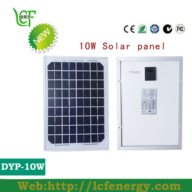 10W solar panel portable home design for solar power system LCF -in ...