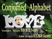 Комбинированные буквенные надписью «love» из Искусственного