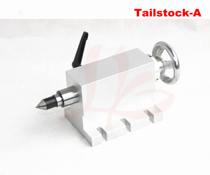 CNC tailstock 4 Axis,MT2 Rotary Axis Lathe Engraving Machine Chuck cnc tailstock rotary axis a axis rotary axis engraving machine chuck for cnc router