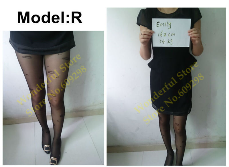 Sexy Pantyhose Tights Women Female Stockings Fashion Thin Sheer Long for Spring Fall Multi Pattern Free Shipping (16)