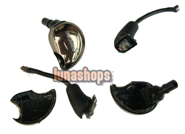 Repair Parts-Housing Shell Crust For Shure SE530 Noise Sound Isolating Earphone USED