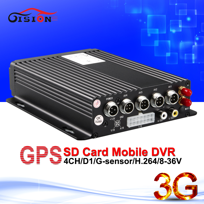 3G real time surveilance car dvr h 264 G Sensor I O night sight PC Phone