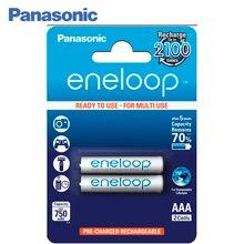 Panasonic BK-4MCCE/2BE Аккумуляторы eneloop 750 мАч AAA R03 BL2. Топовая модель высокой емкости и производительности для активных пользователей мощной техники (вспышка для фотокамеры, радиоуправляемые игрушки и пр.)