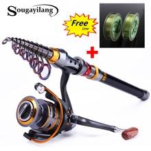 Sougayilang 1 8 3 6m Telescopic font b Fishing b font Rod and 11BB font b