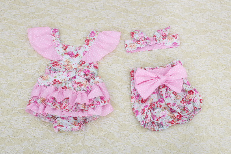 3342a75ec boutique baby romper 2016 new lovely baby girls clothes set newborn baby  girls romper New Hot Summer Baby Girls Clothing Set-in Rompers from Mother  & Kids ...