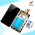 Высокое качество для LG Optimus G E975 E971 E973 E977 жк-дисплей с сенсорным экраном планшета + рамной конструкции 1 шт. бесплатная доставка