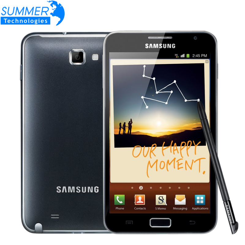Original Unlocked Samsung Galaxy Note i9220 N7000 Mobile Phone 5 3 Dual Core 8MP GPS WCDMA