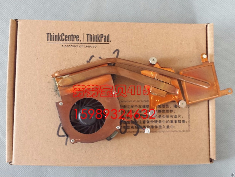 New for IBM Lenovo Thinkpad X60 X61 CPU Cooling Heatsink Fan Cooler 42X3805 , 2 tube купить