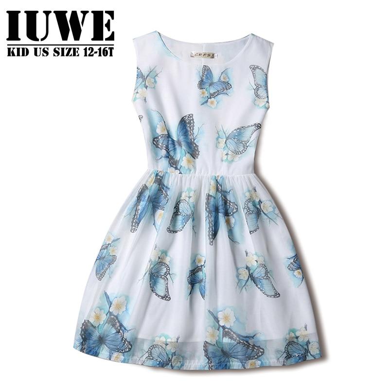 Online Get Cheap Girls Dresses Size 14 16 -Aliexpress.com ...