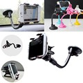 Car Phone Windshield Suction Cup Long Arm Dual Grip Holder for Samsung galaxy s7/s6/edge/s5/Asus zenfone max/2/5/LG g5/v10/g4/g3