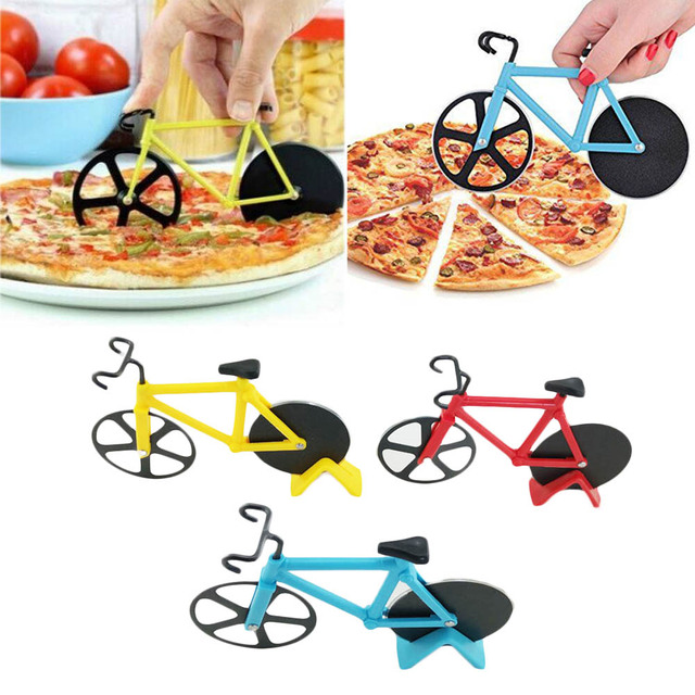 High Quality Bicycle Pizza Cutter cool kitchen appliances