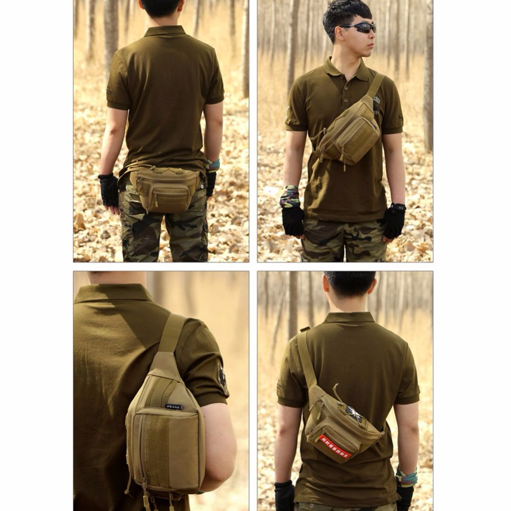 Outdoor Military Tactical Rucksacks Sport Camping Hiking Trekking Waist Bag Drop Shipping