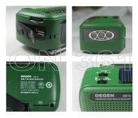 деген de13 FM и АМ-з кривошипно sloar радиоприемник динамо радио с мобильного телефона зарядное устройство фонарик