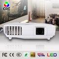 TV 3D full hd 1920x1080 p mini led projetor 3000 lumens LEVOU Projetor CRE 2016 nova chegada