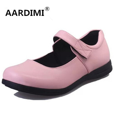2017 Spring oxford shoes for women fashion Hook&loop lolita shoes women top quality mary janes women flats student shoes