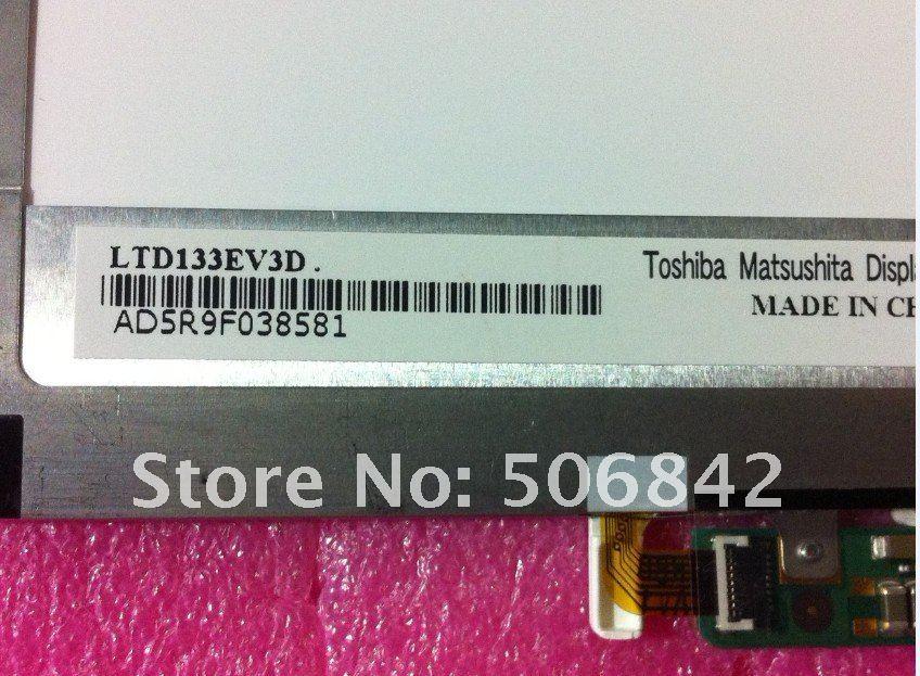 "13,"" светодиодный экран для ноутбука LTD133EV3D для DELL E4300, A+ 1280x800"
