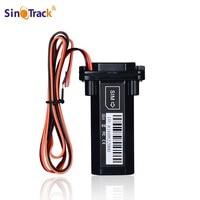 Mini Impermeable Batería de Builtin GPS GSM tracker para Coche de la motocicleta dispositivo de rastreo de vehículos con sistema de seguimiento en línea de software