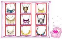 бесплатная доставка! 5 шт./лот, оптовая продажа алиэкспресс дешевые мода коренастый снаряженная цепь себе ожерелье