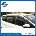 Mejor Calidad 4 Unids Ventanilla Del Coche Del Visera Deflector de Viento Sun Rain Guardia Defletor Para Peugeot 206