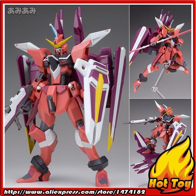 100% Original BANDAI Tamashii Nations Robot Spirits No.185 Action Figure - Justice Gundam from