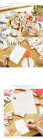 супер милые кошки открытка / прекрасный кот открытки коллекционная коллекция подарков от частных лиц пластиковой упаковки 40 шт./компл. бесплатная доставка
