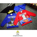 Autumn kids sweatshirts superhero printed boys sweatshirts long sleeve girls hoodies warm kids clothes pullover with cloak