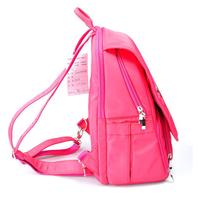 CADeN Q5 Camera Bags Women Backpacks Waterproof Polyester Rose Red Camera  Carry Case for DSLR Canon Nikon Sony eb36231e98264