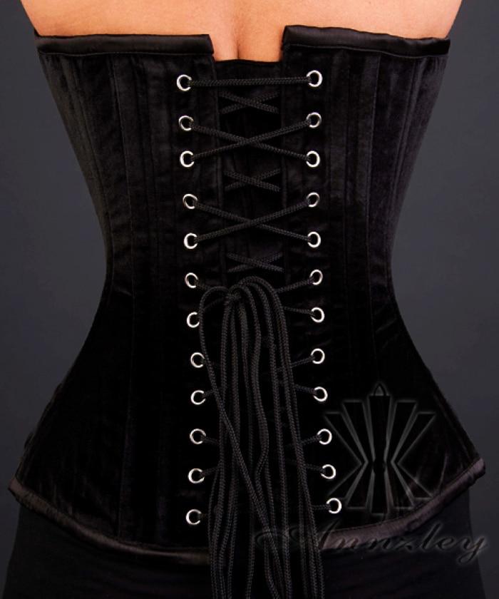 f15455e979 ... Sexy Black Velvet Overbust Corset Top For Waist Training (4).jpg ...