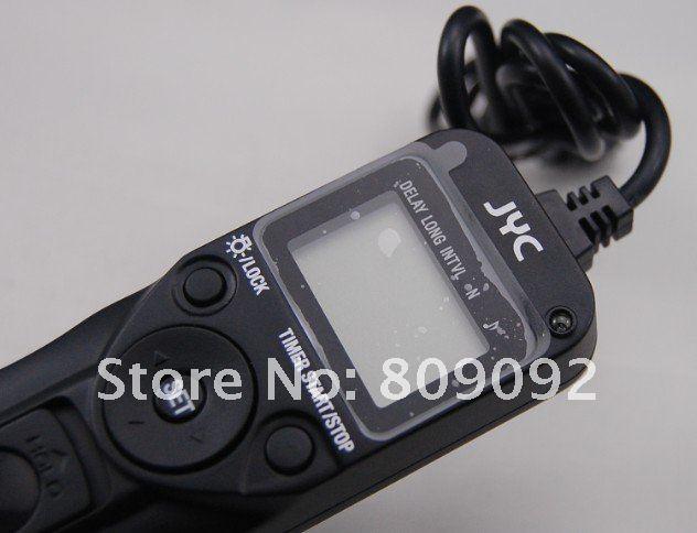 MC-C3 ספרות טיימר שלט רחוק לתריס עבור Canon 5D 7D