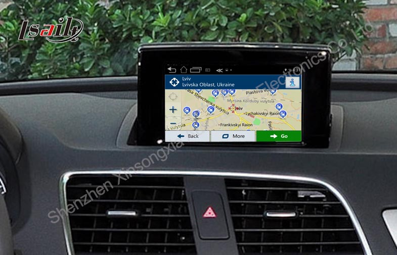 car navigation box for 2012 2016 audi a1 q3 gps interface box rear view in vehicle gps from. Black Bedroom Furniture Sets. Home Design Ideas