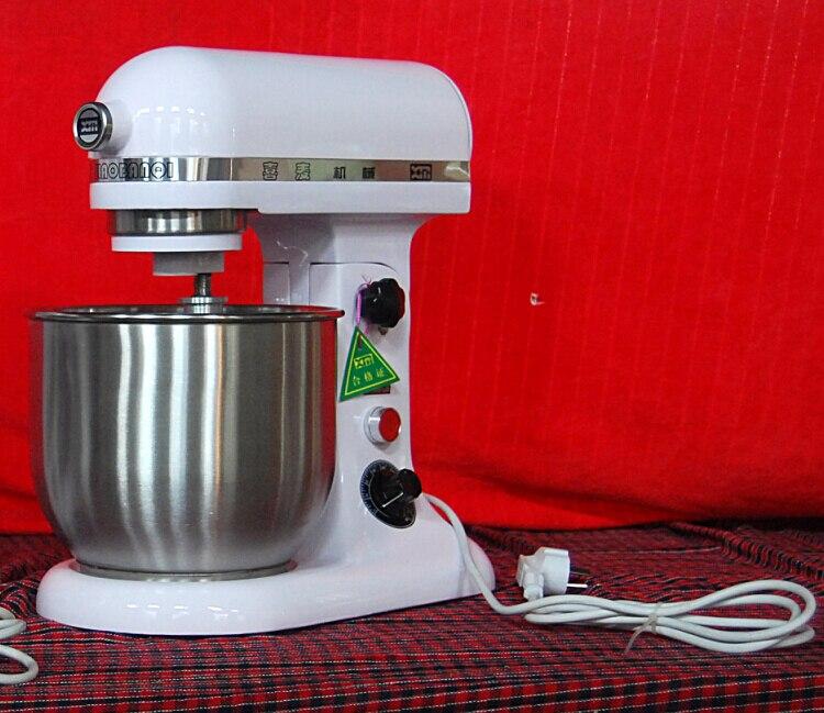 Electric 5L stand food mixer cake egg milk dough bread mixer machine