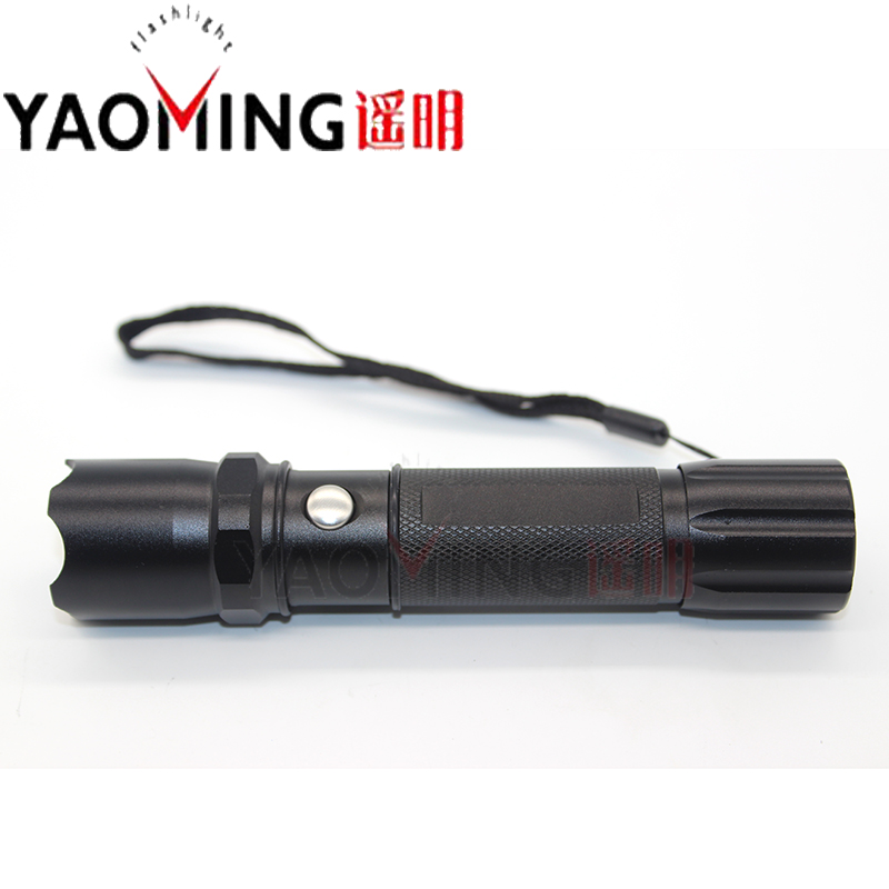 Powerful Tactical LED Flashlight CREE Q5 5W 2300LM Led Lamp Lantern Lorch Light Rechargeable Police flashlights 18650 + charger