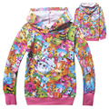 Wholesale girl's clothing princess girls long sleeves Spring Autumn terry hoodie sweater 783