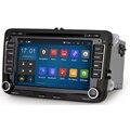 Android GPS del coche reproductor de DVD para Wolkswagen Polo Scirocco Passat Conejo Amarok Cabeza Dispositivo de Radio Estéreo Navegador Android RDS Mapa