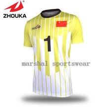 Personalizado camisas de futebol conjunto Completo de impressão por  sublimação personalizado Camisas de futebol fazer qualquer 33eae50f55f48