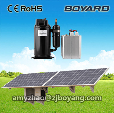 Made in China rotary dc compressor 24v for solar powered air conditioner made in china boyard 12 24v compressor of portable air conditioner for cars portable freezer portable drink cooler